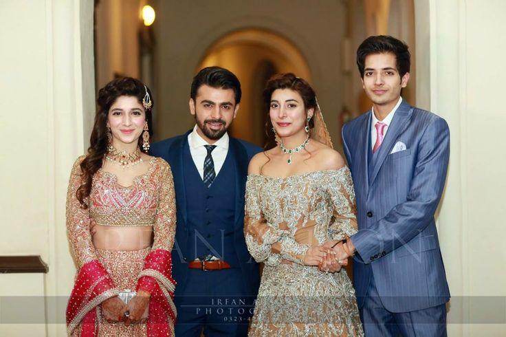 Urwa & Farhan on their reception #pakistaniweddings #urwahocane #farhansaeed #urwafarhan