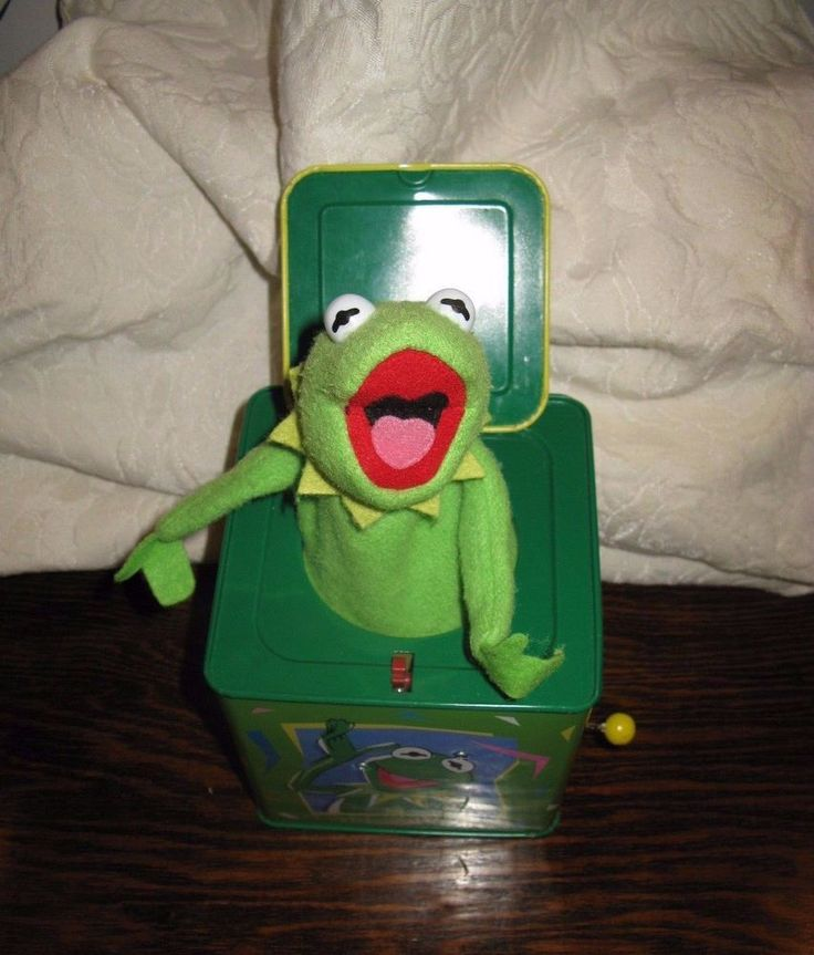 Rare Vintage KERMIT The Frog Musical Jack In The Box Schylling Jim Henson Muppet #Schylling & 132 best Vintage II: Jack-in-the-Box images on Pinterest | Jack in ... Aboutintivar.Com