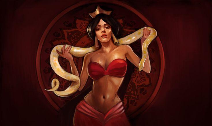 Red Jasmine by ~Kazeki on deviantART