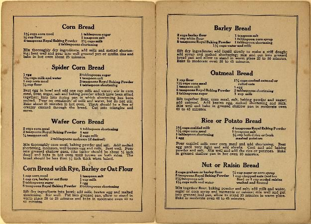 Best Wartime recipes... WWI