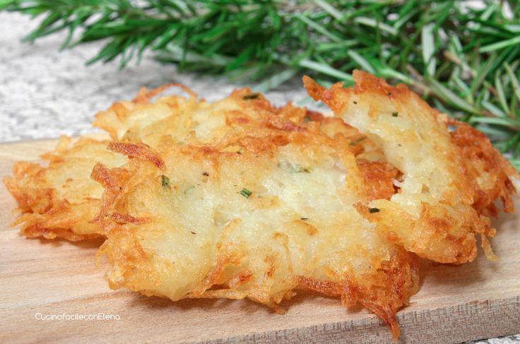Le Frittelle di Patate sono una ricetta velocissima e facilissima da fare, si…