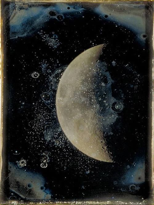 John Adams Whipple, A View of the Moon , Daguerreotype, 26th February, 1852