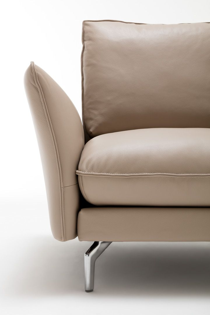 h lsta sofa seitenteil winkel weicher superior sitzkomfort leder karl creme hellbeige. Black Bedroom Furniture Sets. Home Design Ideas