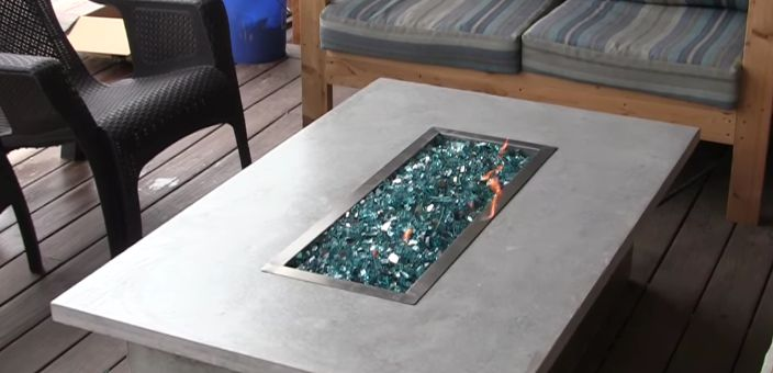 Fire pit tables in the garden - Fire pit tables