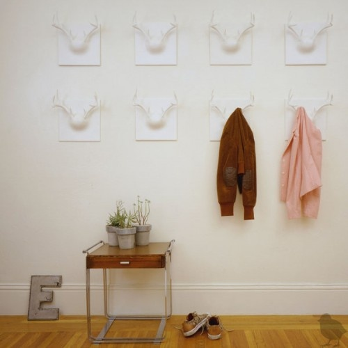 17 best images about oh deer antler chic on pinterest for Ghost antler coat rack