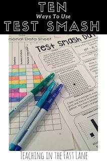 10 strategies for making math and reading state standardized test prep more fun including ideas, games, and motivation which will leave your 3rd grade, 4th grade, or 5th grade students asking for more fun!