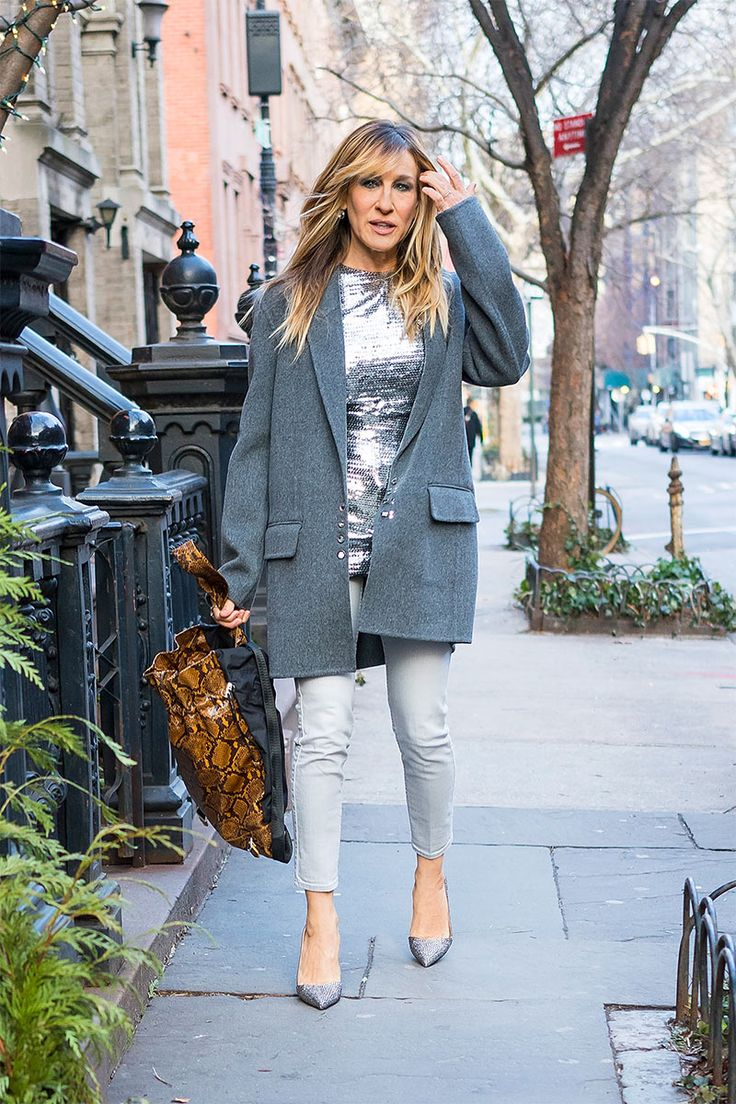 Sarah Jessica Parker - In New York City, 2017