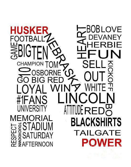 Everything that makes the Nebraska Cornhusker Football team great!