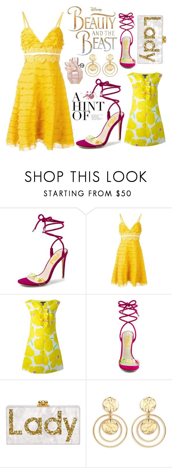 """FSJ open toe sandals high heels lace up"" by fsjamazon ❤ liked on Polyvore featuring Giambattista Valli, Boutique Moschino, Disney and Kenneth Jay Lane"
