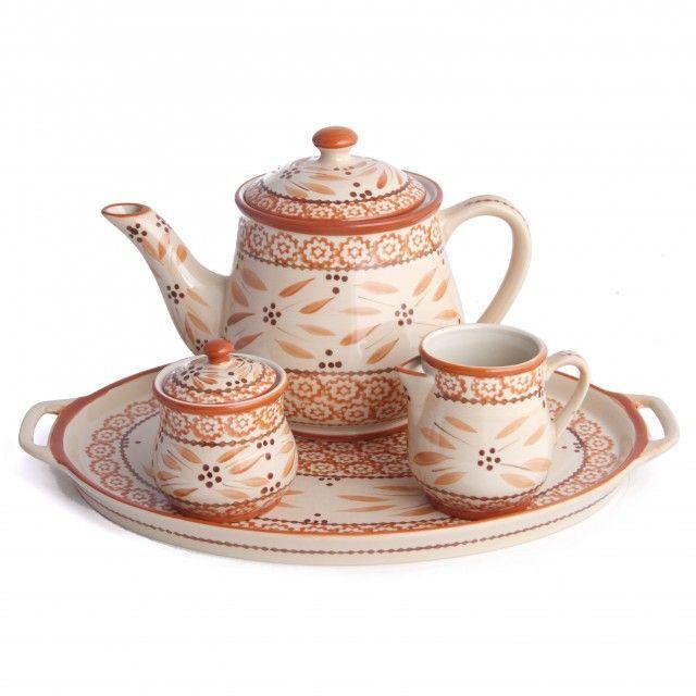 temp-tations® by Tara: temp-tations® Old World 4-pc. Tea Set, not really vintage but it looks it. Very pretty