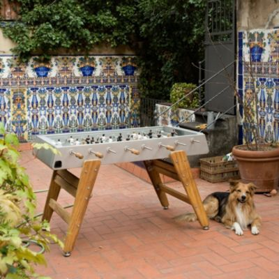 I REALLY WANT THIS...Barcelona Indoor/Outdoor Foosball Table