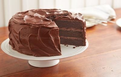 "HERSHEY'S ""Perfectly Chocolate"" Chocolate Cake Recipe.....hands down, the BEST chocolate cake you will ever make!"