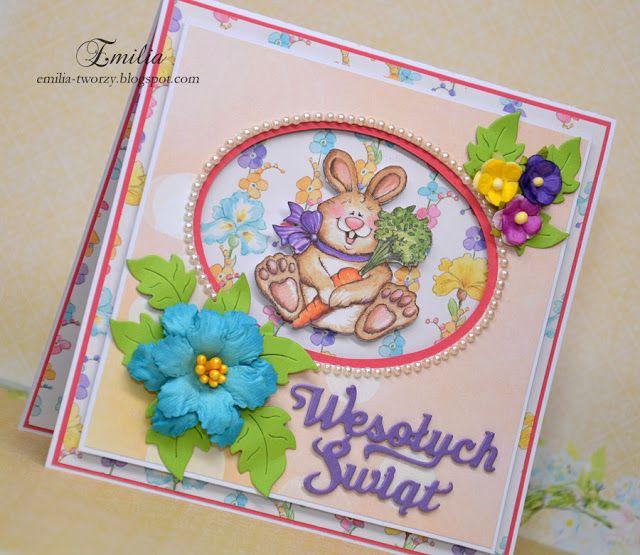 Na Wielkanoc z króliczkiem/Easter card