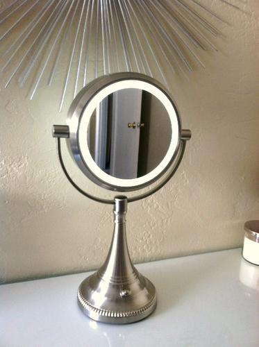 20 lighted vanity mirror from costco luuux gotta try this pinterest. Black Bedroom Furniture Sets. Home Design Ideas
