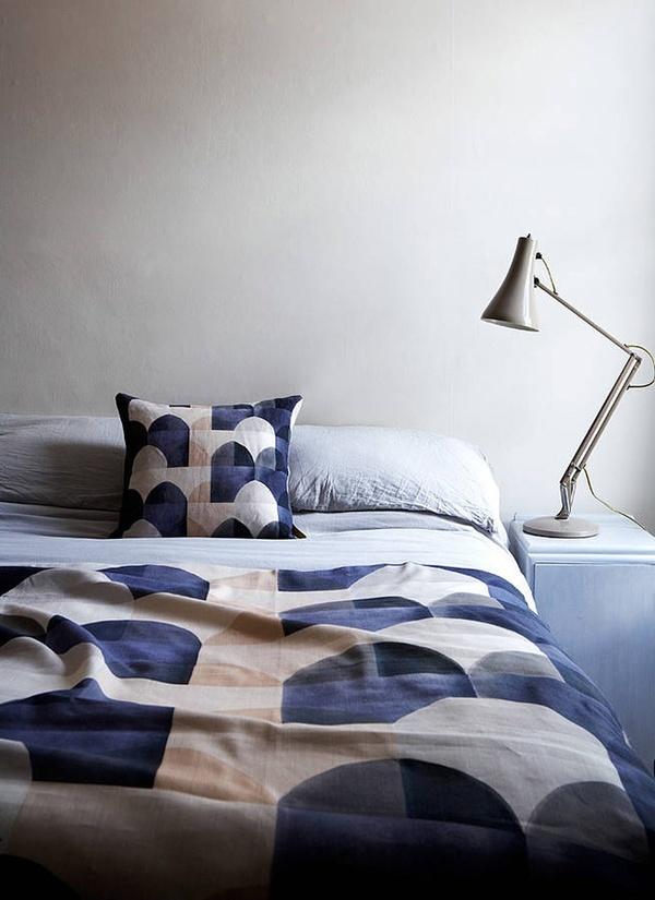 fabric by imogen heath: Interiors Design Offices, Home Interiors, Offices Design, Brooklyn Apartment, Fabrics, Beds Linens, Imogen Heath, Imogenheath, Textile
