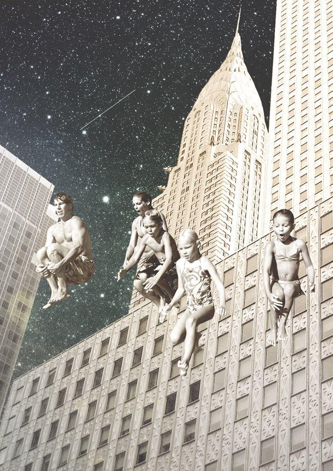 Collages espaciales 4