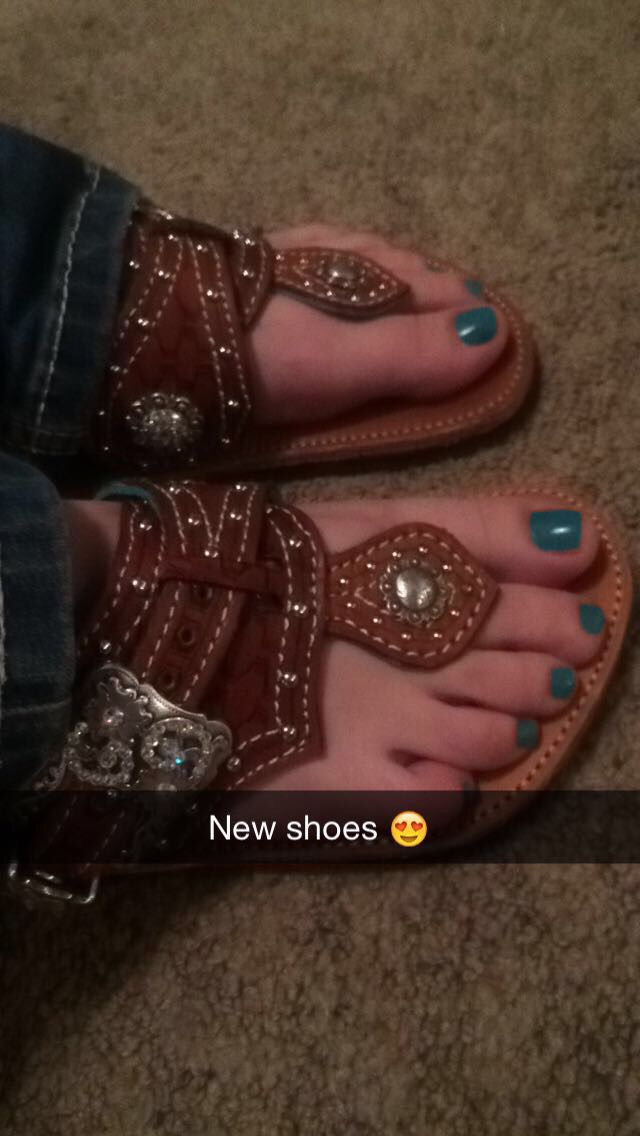 My new shoes!! Spur straps!! ❤️❤️