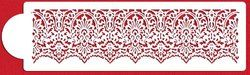 "$20.99 on Blinq Create the look of a delicate band of lace with our Victorian Lace border. Sized 3.75""H x 14.25""W so you only have to repeat once on a 14"" x 14"" square base. Made from durable, 10 mil food-grade pl..."