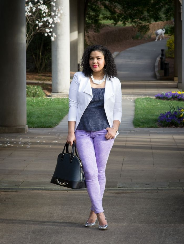 Look - How to pastel wear green jeans video