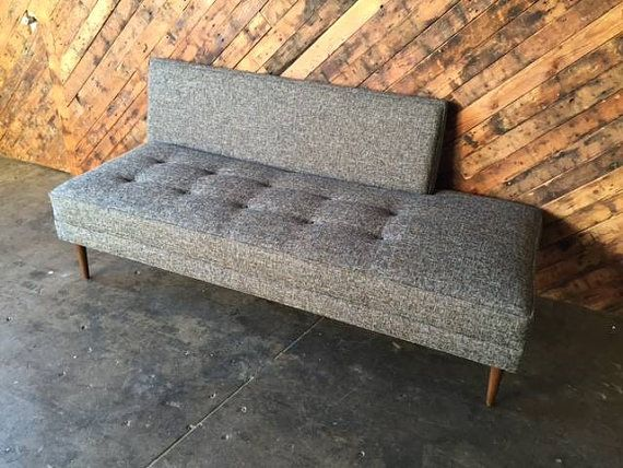 Mid Century Style Custom Day Bed Sofa by TheHuntVintageLA on Etsy