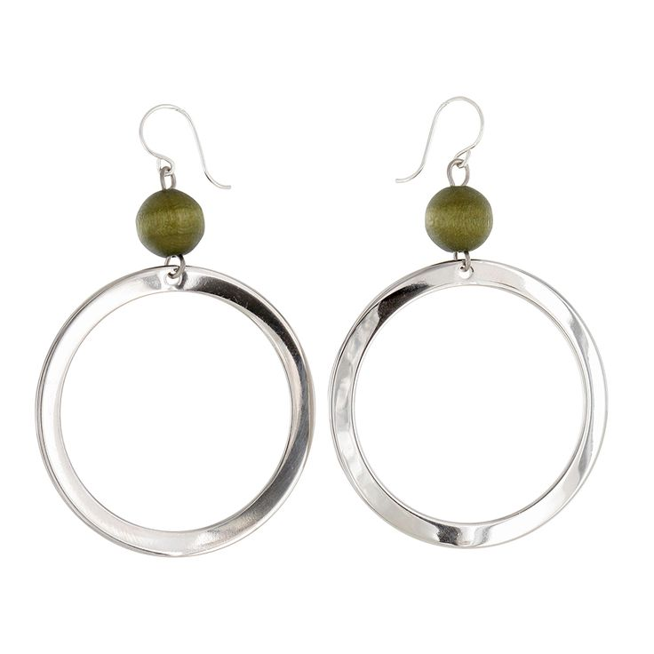 Aarikka jewellery: Taiga earrings