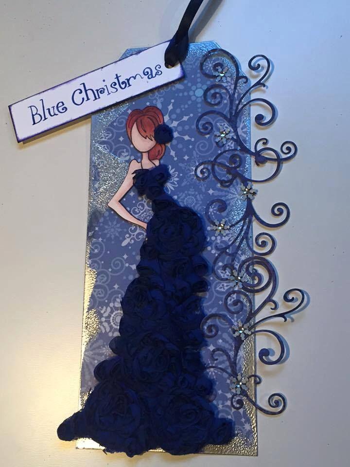 B'Blue Christmas' Julie Nutting Prima doll