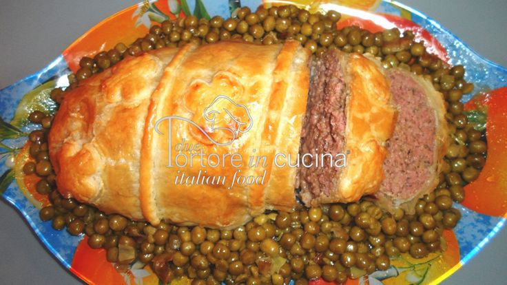 Polpettone in crosta  La ricetta qui: http://www.duetortoreincucina.com/it/recipes/second-course-primi-piatti/italiano-polpettone-crosta/