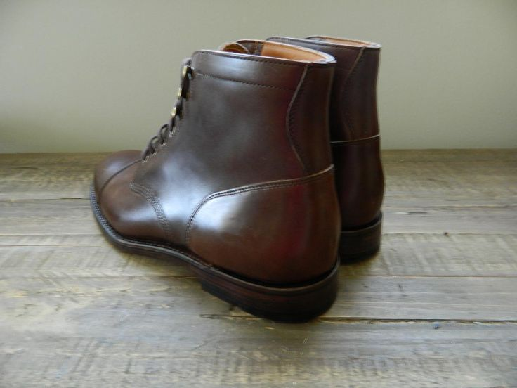 J.CREW Ludlow Leather Cap Toe Boots Shoes $358 Brown Chromexcel 11.5 b0551 in Clothing, Shoes & Accessories, Men's Shoes, Boots | eBay