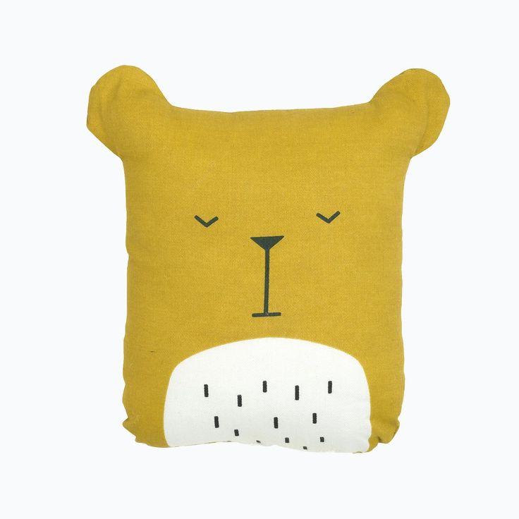 Organic Cotton Animal Friends - Lazy Bear