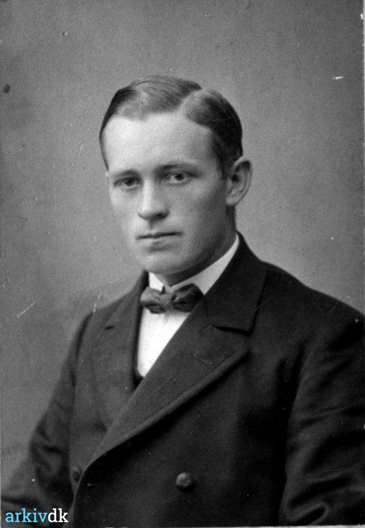 arkiv.dk | Portræt af Thomas Christensen Rønn, Vrist, ca. 1920