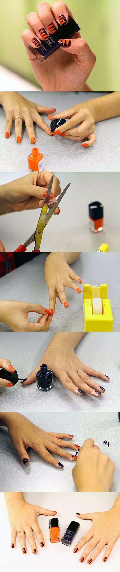 19 best Broncos nails images on Pinterest   Broncos nails, Super ...