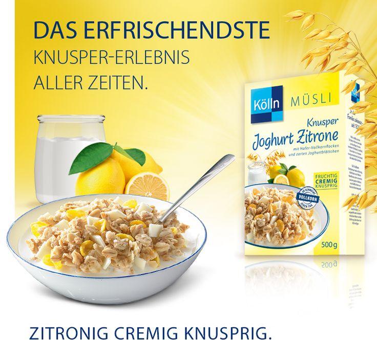 Kölln Müsli Knusper Joghurt Zitrone: koelln.de