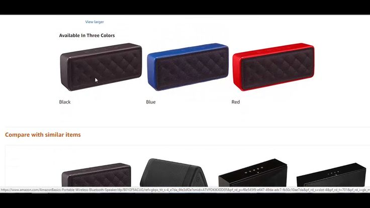 AmazonBasics Portable Wireless Speaker Review | Best Ultra-Portable Bluetooth Technology Soundbox https://www.youtube.com/watch?v=80jZac3lx80