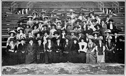 Edwardian ladies Union of South Africa Pageant committee, 1910.