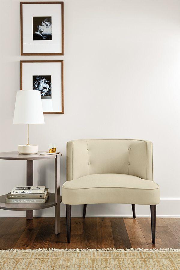 Chloe Leather Chair Modern Living Room