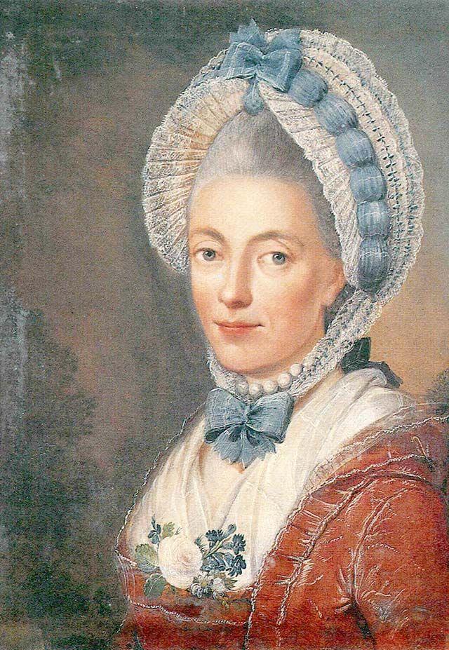 Sophie Dorothea Gleim, ca. 1770, Benjamin Calau.
