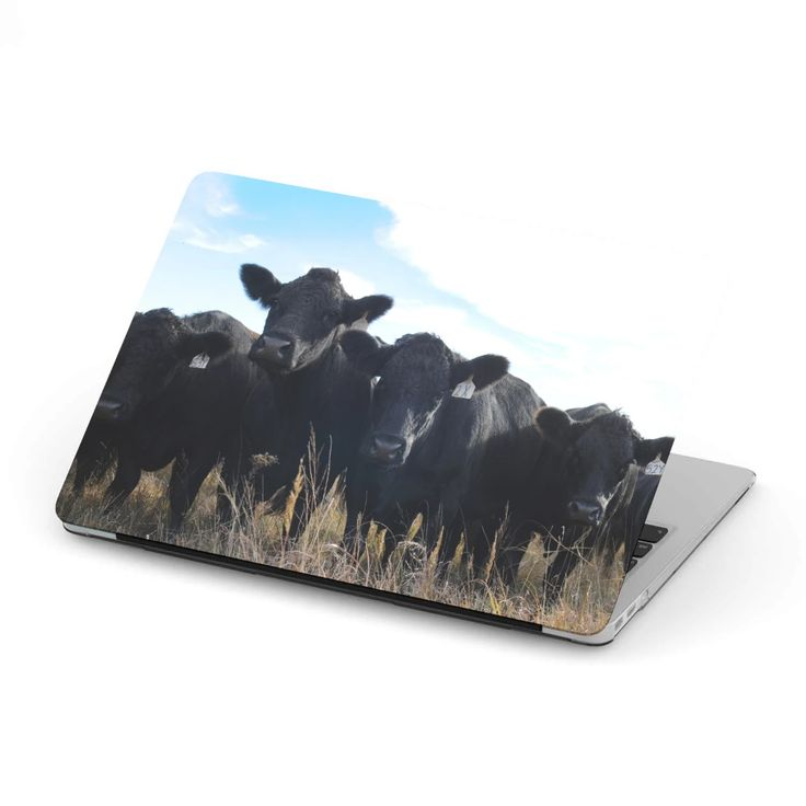 MacBook Case for Cow Lovers 08