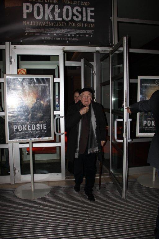"""Premiera filmu """"Pokłosie"""", Andrzej Wajda, #poklosie #kinoatlantic"""