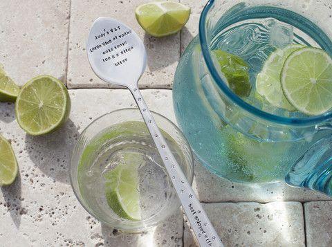 Personalised Spoon Drink Stirrer