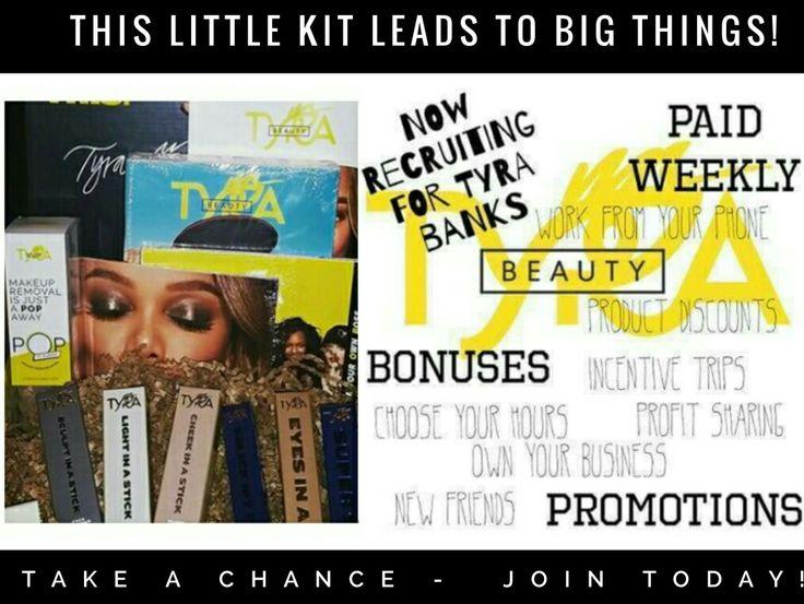 Join the Bombshell Mafia today -- $89 gets you in! #tyra #beauty #business #makeup #money tyra.com/bombshellangel