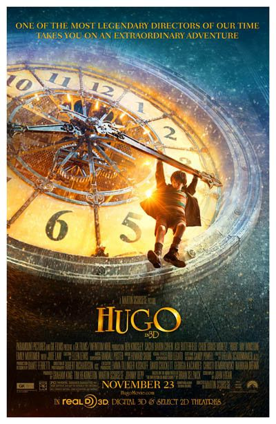 A great poster for kids! Hugo is the 2011 historical adventure movie directed by…