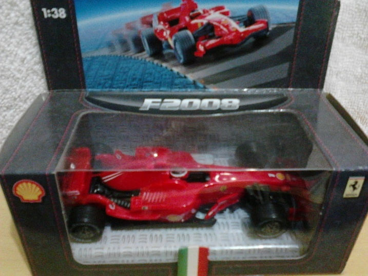 F1 - Ferrari F2008 (Official Product 025862618)