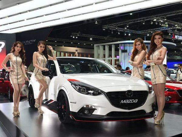 2014 Mazda MAZDA2 with Sexy Girls