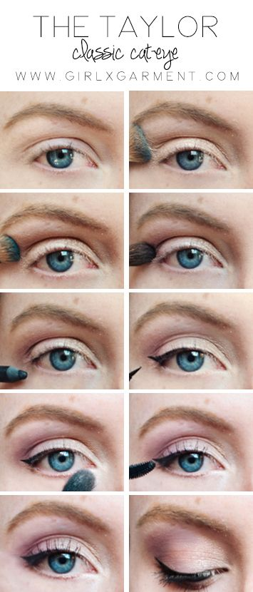 Taylor Swift Cat Eye Tutorial | www.girlxgarment.com