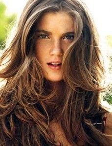Holy Layers Batman - Love this Long layered Hair
