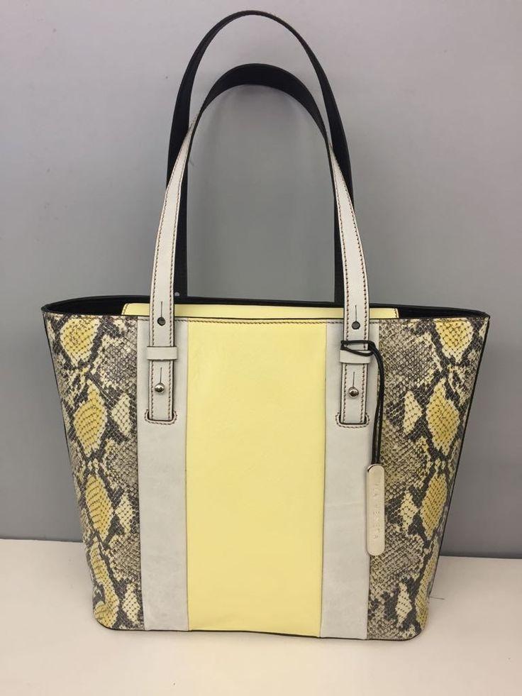 genuine leather handbag from the Via La Moda Showroom