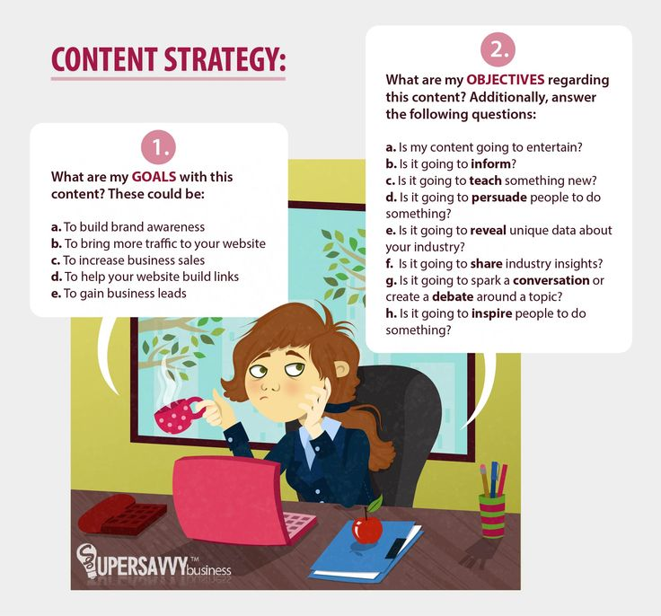 Content Marketing is useless without the right strategy. Ask yourself these questions & start crafting your content marketing strategy now! :)