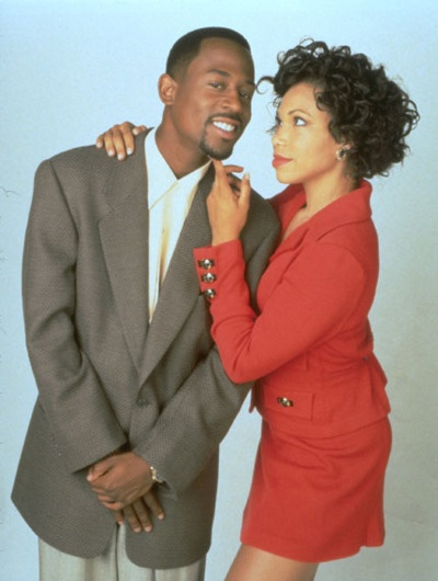 Martin Lawrence and Gina - TV Couple