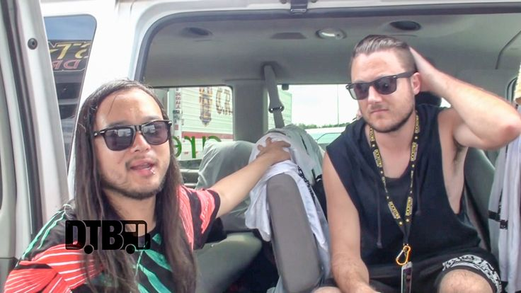 Feed Her To The Sharks - PRESHOW RITUALS Ep. 132 [VIDEO] - Digital Tour Bus - The metalcore band, Feed Her To The Sharks, share what they do before taking the stage, while on the Rockstar Energy Drink Mayhem Festival 2015 with Slayer