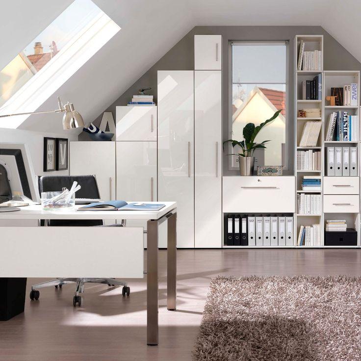 10 besten wei e schreibtische bilder auf pinterest weiss. Black Bedroom Furniture Sets. Home Design Ideas